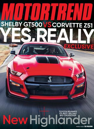 Get Your Digital Copy Of Motor Trend March 2020 Issue