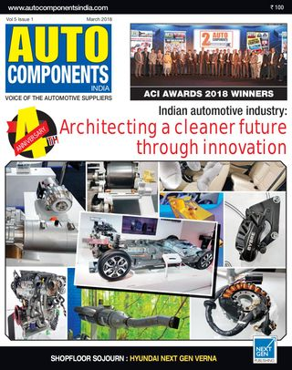 Auto Components India Magazine March 2018 issue – Get your