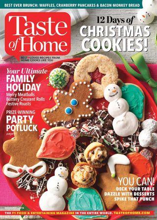 Taste Of Home Magazine December 2016 Issue Get Your Digital Copy