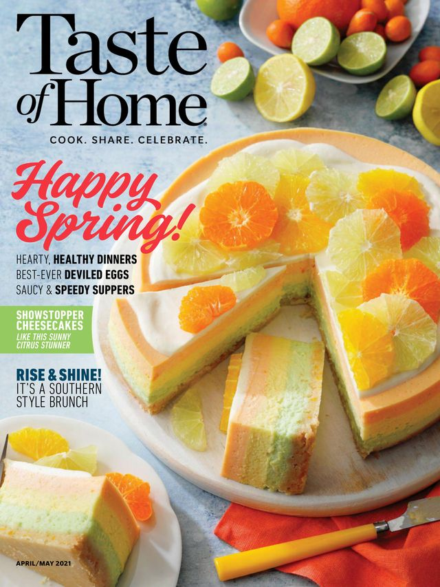 Taste of Home April - May 2021 Magazine