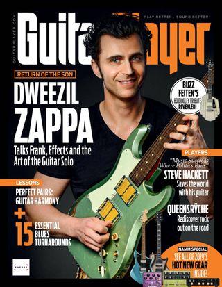 Guitar Player Magazine April 2019 issue – Get your digital copy