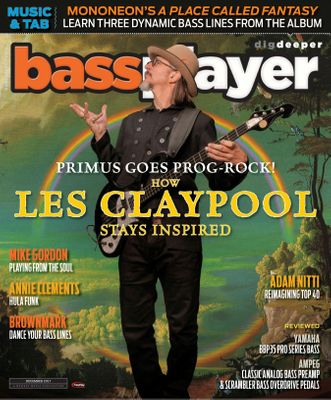 Bass Player Magazine December 2017 issue – Get your digital copy