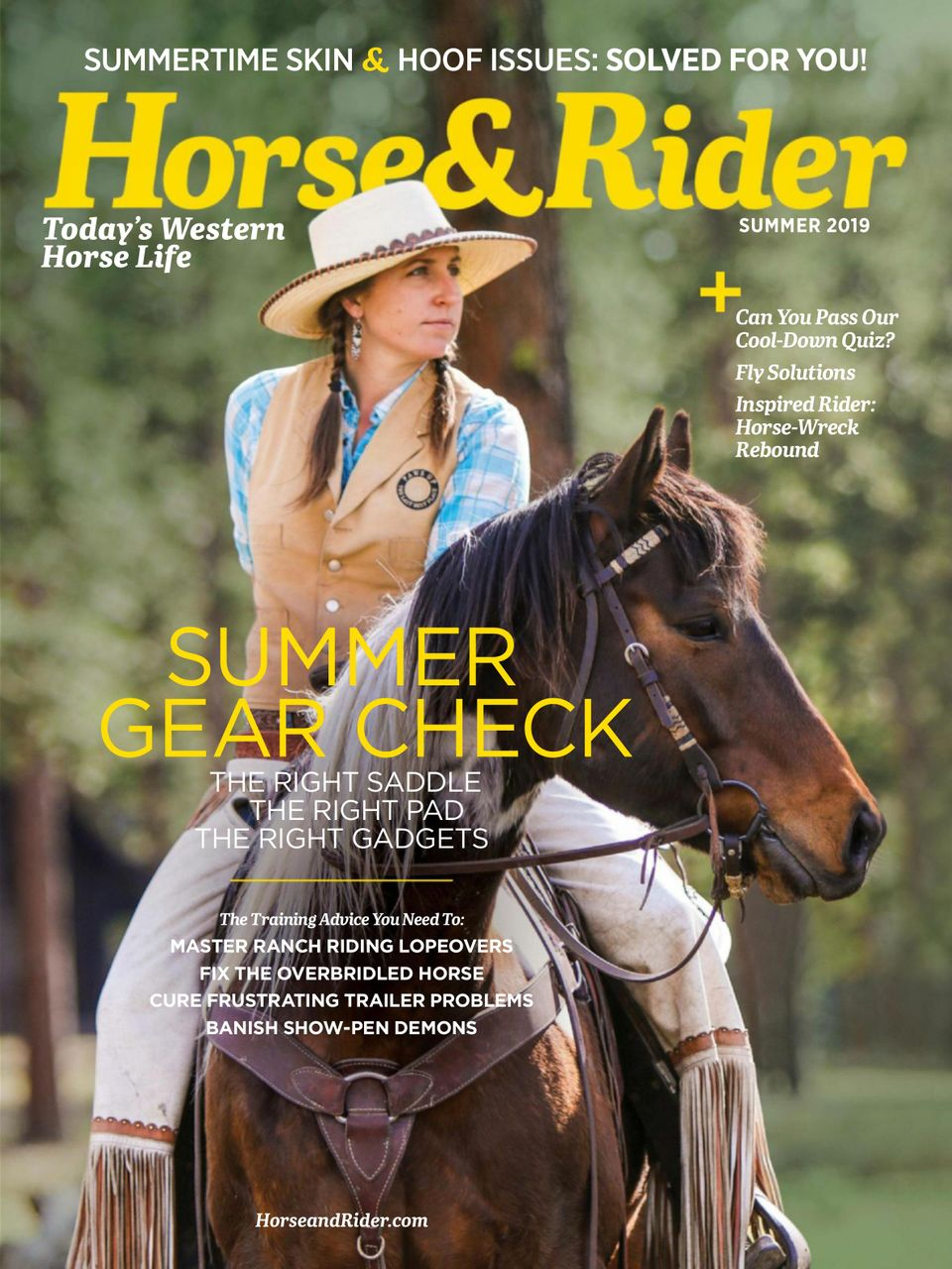 Get Your Digital Copy Of Horse And Rider Summer 2019 Issue