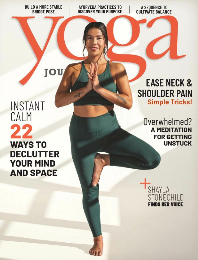 Yoga Journal March - April 2021 Magazine