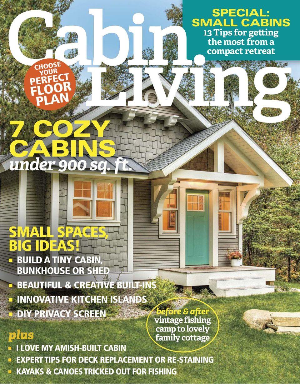 Build This Cozy Cabin 10 Cabin Floor Plans Cozy Homes Life