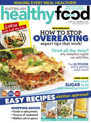 Get Your Digital Copy Of Healthy Food Guide June 2015 Issue