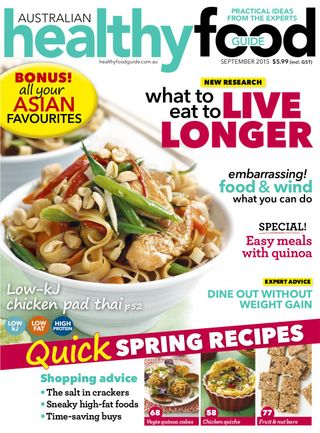 Healthy Food Guide Magazine Get Your Digital Subscription