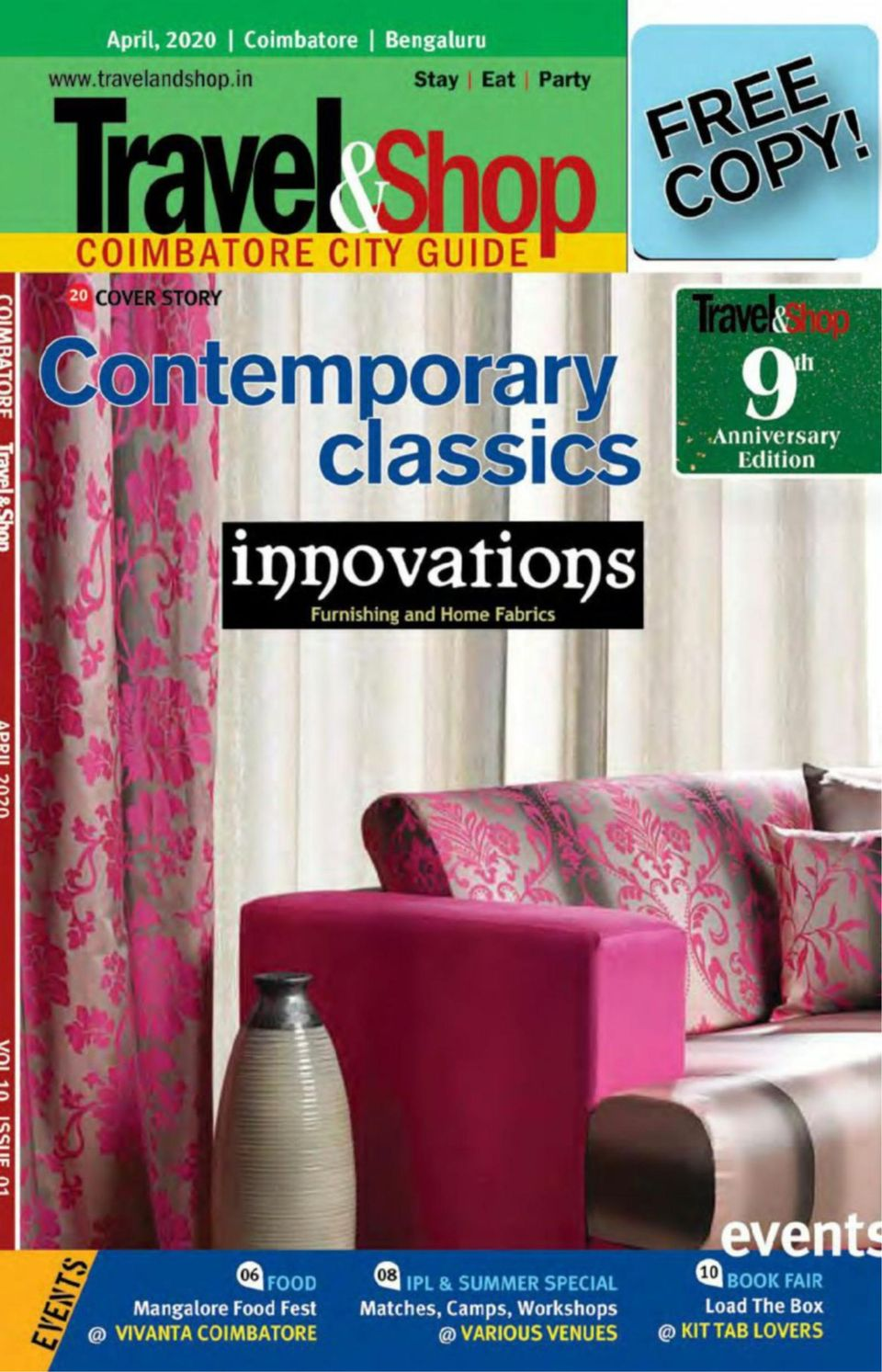 Get Your Digital Copy Of Coimbatore Travel Shop April 2020 Issue
