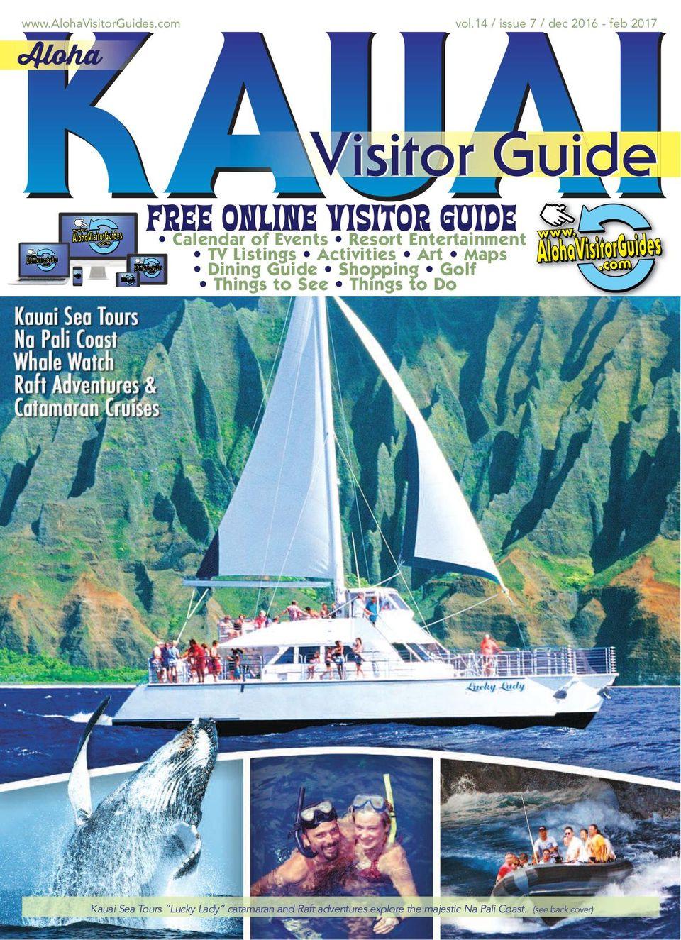 Get Your Digital Copy Of Aloha Kauai Visitor Guide December 2016 Issue
