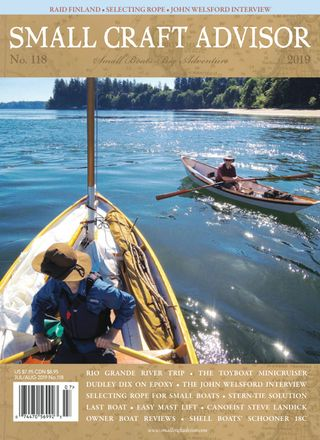Small Craft Advisor Magazine July/August Issue #106 issue