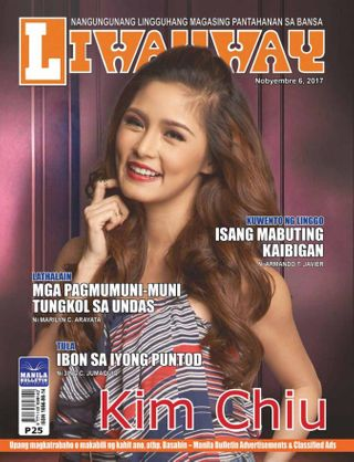Liwayway Magazine November 6, 2017 issue – Get your digital copy