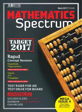 Spectrum Mathematics Magazine March 2017 issue – Get your