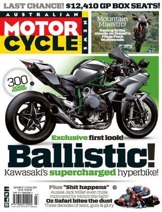 Australian Motorcycle News Magazine 2014 Issue 20 issue