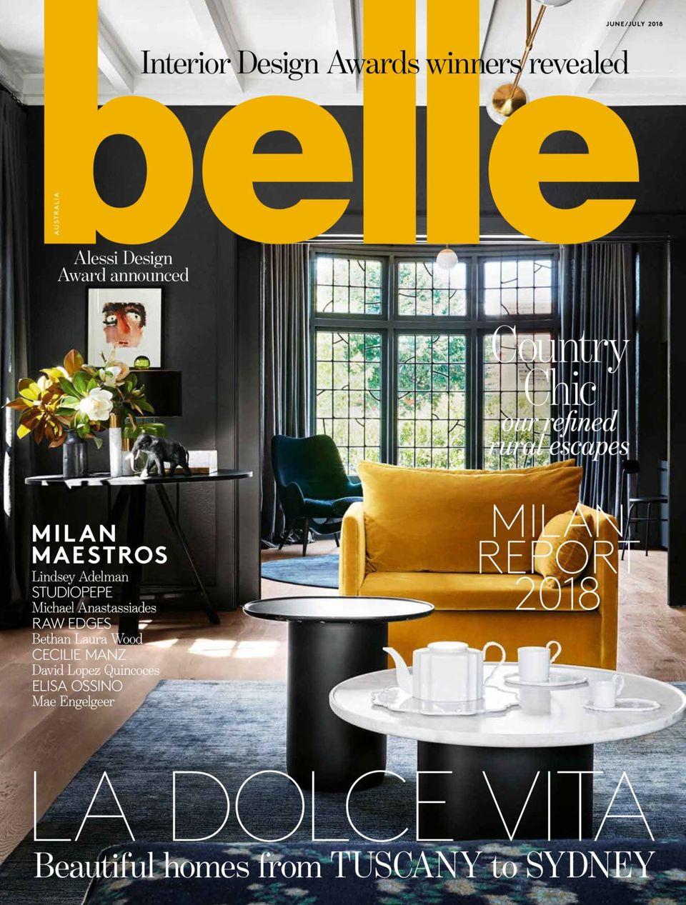 Get Your Digital Copy Of Belle Magazine Australia June 2018 Issue