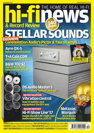 Hi-Fi News Magazine December 2017 issue – Get your digital copy