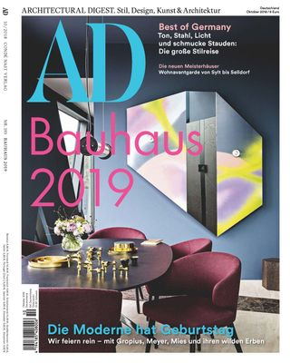 Architectural Digest Deutsch Magazine Oktober 2018 Issue Get