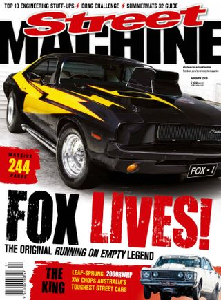 Street Machine Magazine January 2019 issue – Get your