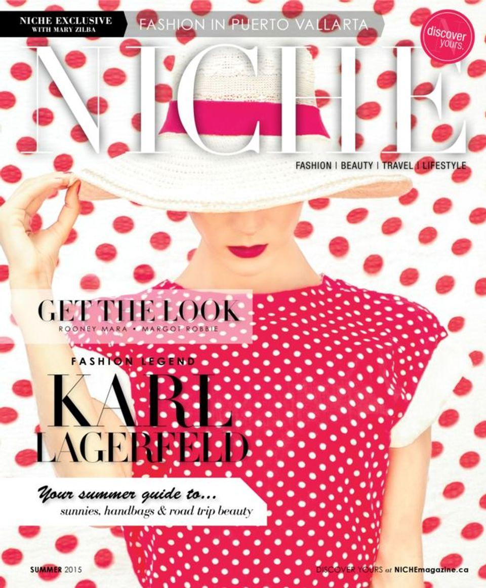 NICHE Fashion/Beauty Magazine-Summer 2015 Magazine