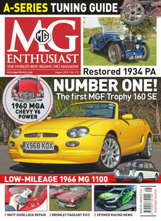 MG Enthusiast Magazine - Get your Digital Subscription