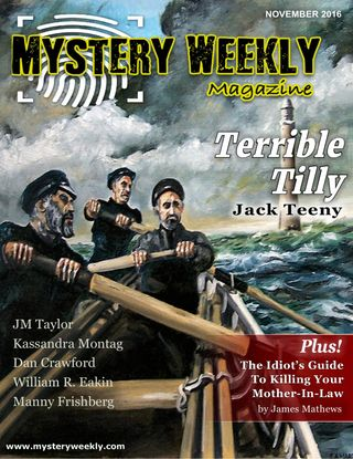 Mystery Weekly Magazine November 2016 issue – Get your