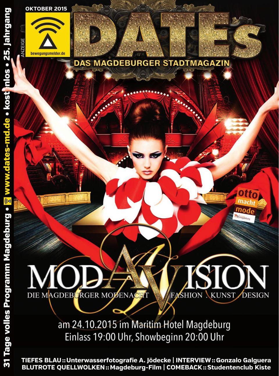 Stadtmagazin DATEs Magdeburg Get your Digital Subscription