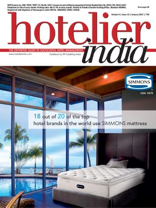 Hotelier India Magazine January 2017 issue – Get your