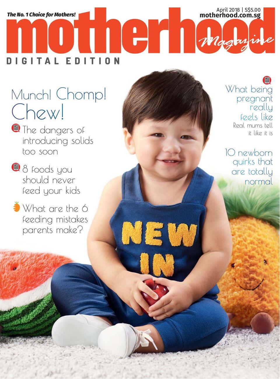 Get Your Digital Copy Of Motherhood Magazine April 2018 Issue