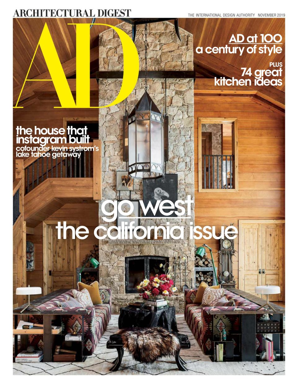 Get Your Digital Copy Of Architectural Digest November 2019 Issue