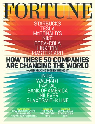 Fortune Magazine September 1,2016 issue – Get your digital copy