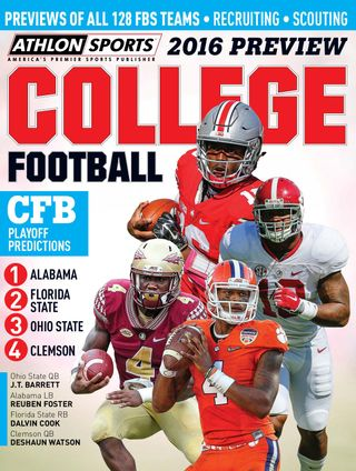 Athlon Sports National College Football Season Preview Magazine