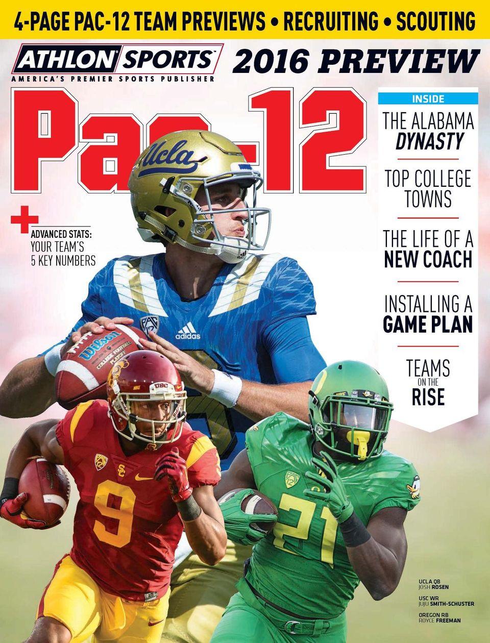 Athlon Sports College Football Magazine Subscription
