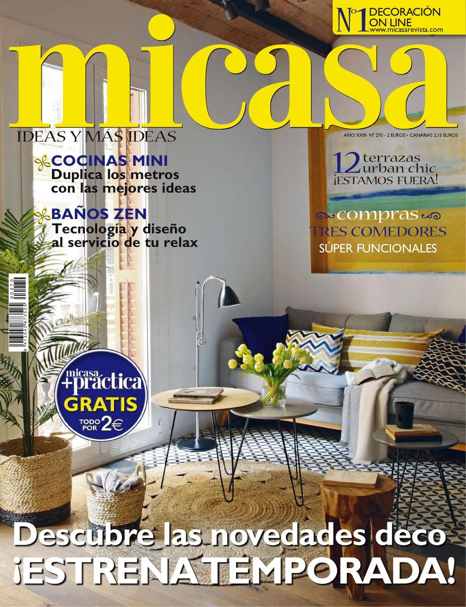 Get Your Digital Copy Of Micasa Nº 270 Issue