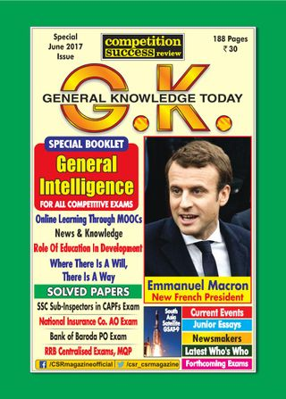 General Knowledge Today Magazine June 2017 issue – Get your