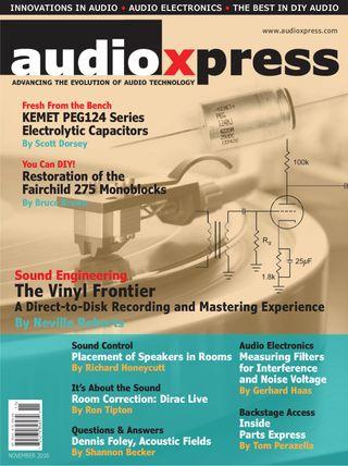 audioXpress Magazine November 2016 issue – Get your digital copy