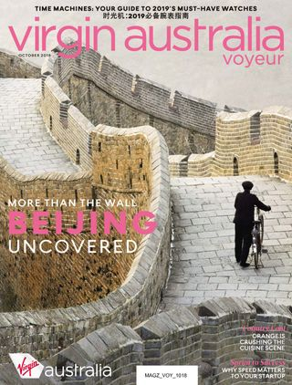 Virgin Australia Voyeur Magazine October 2018 issue – Get your