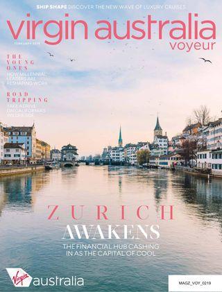 Virgin Australia Voyeur Magazine February 2019 issue – Get your