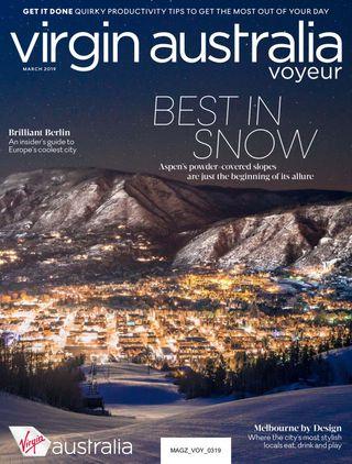 Virgin Australia Voyeur Magazine March 2019 issue – Get your digital