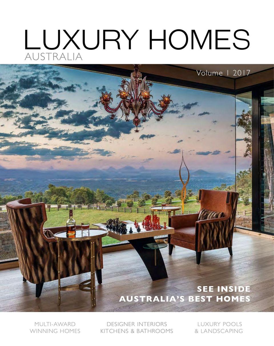 luxury home design magazine australia