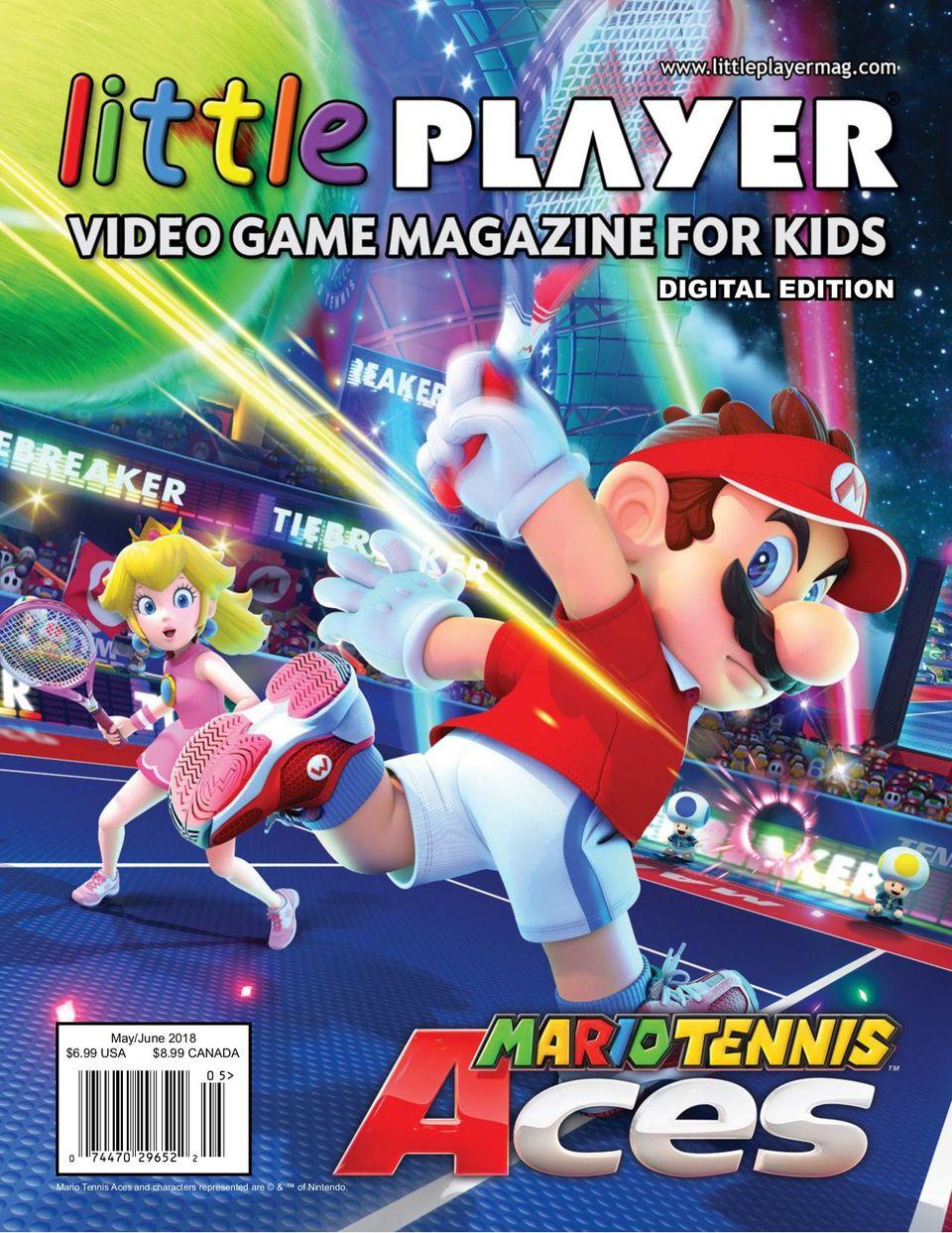 Little Player Video Game Magazine For Kids Magazine