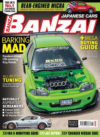 Banzai Magazine November 2018 issue – Get your digital copy