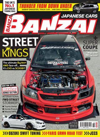 Banzai Magazine February 2019 Issue Get Your Digital Copy