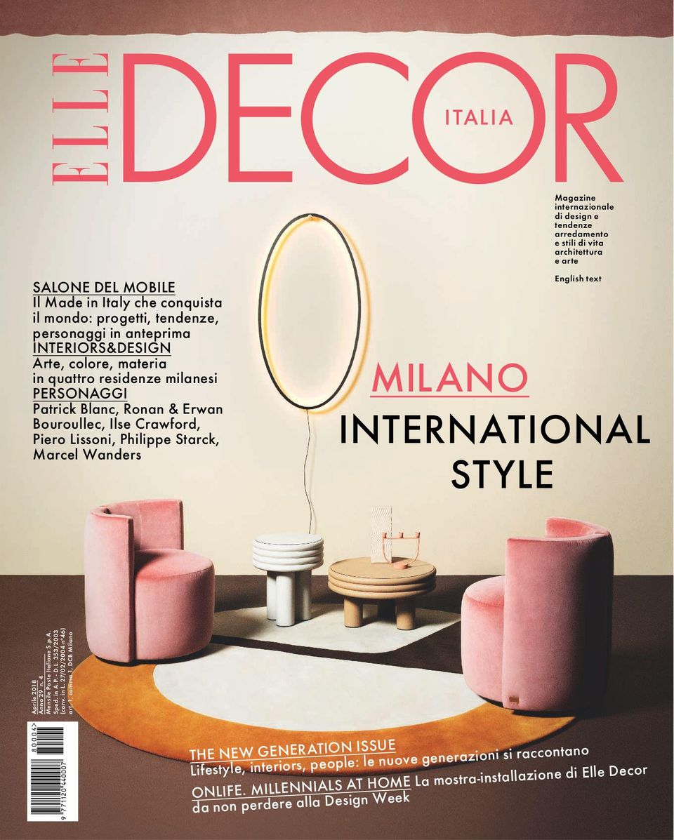 Nuove Tendenze Arredamento 2018 get your digital copy of elle decor italia-aprile 2018 issue