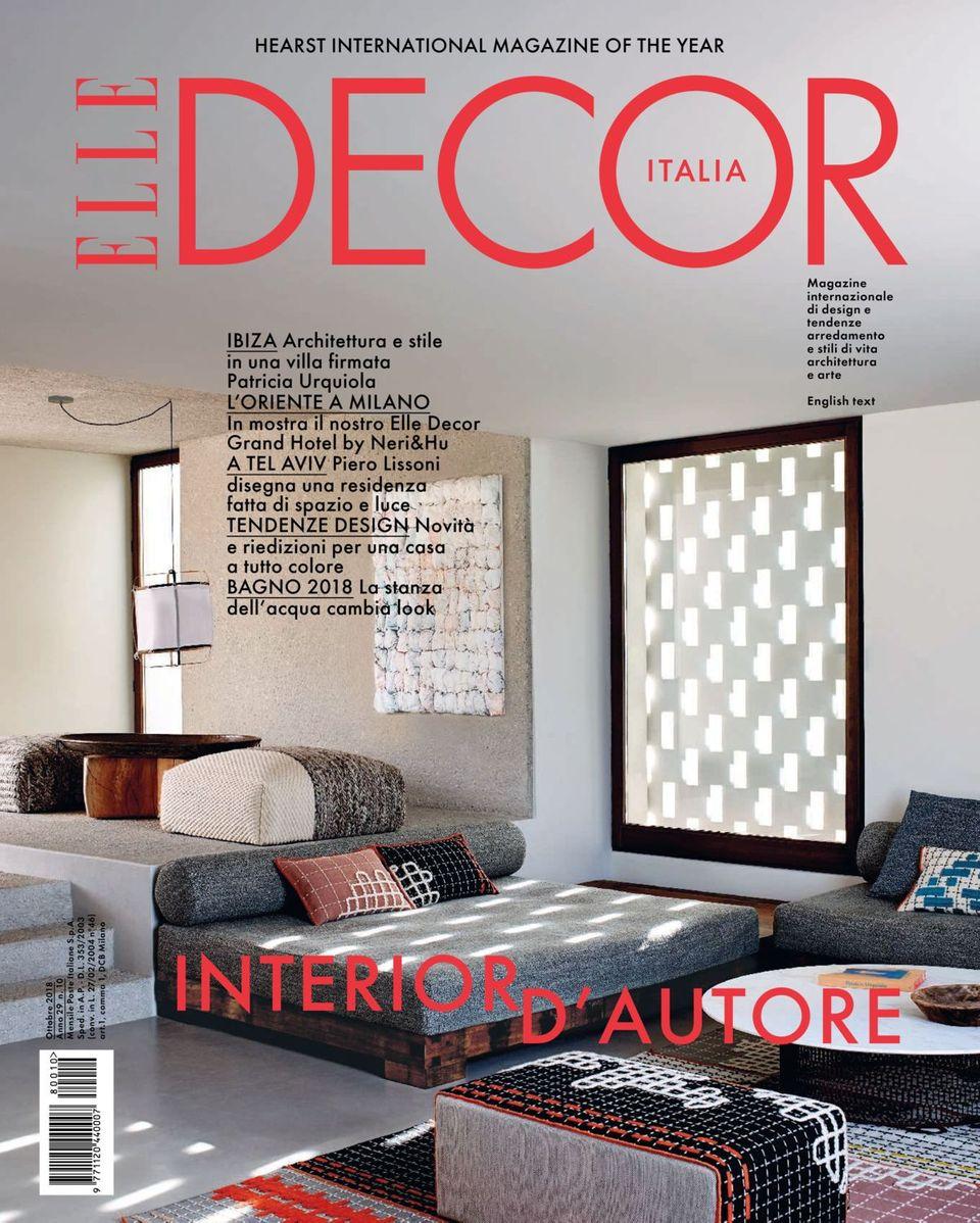 Mostra Design Milano 2018 get your digital copy of elle decor italia-ottobre 2018 issue