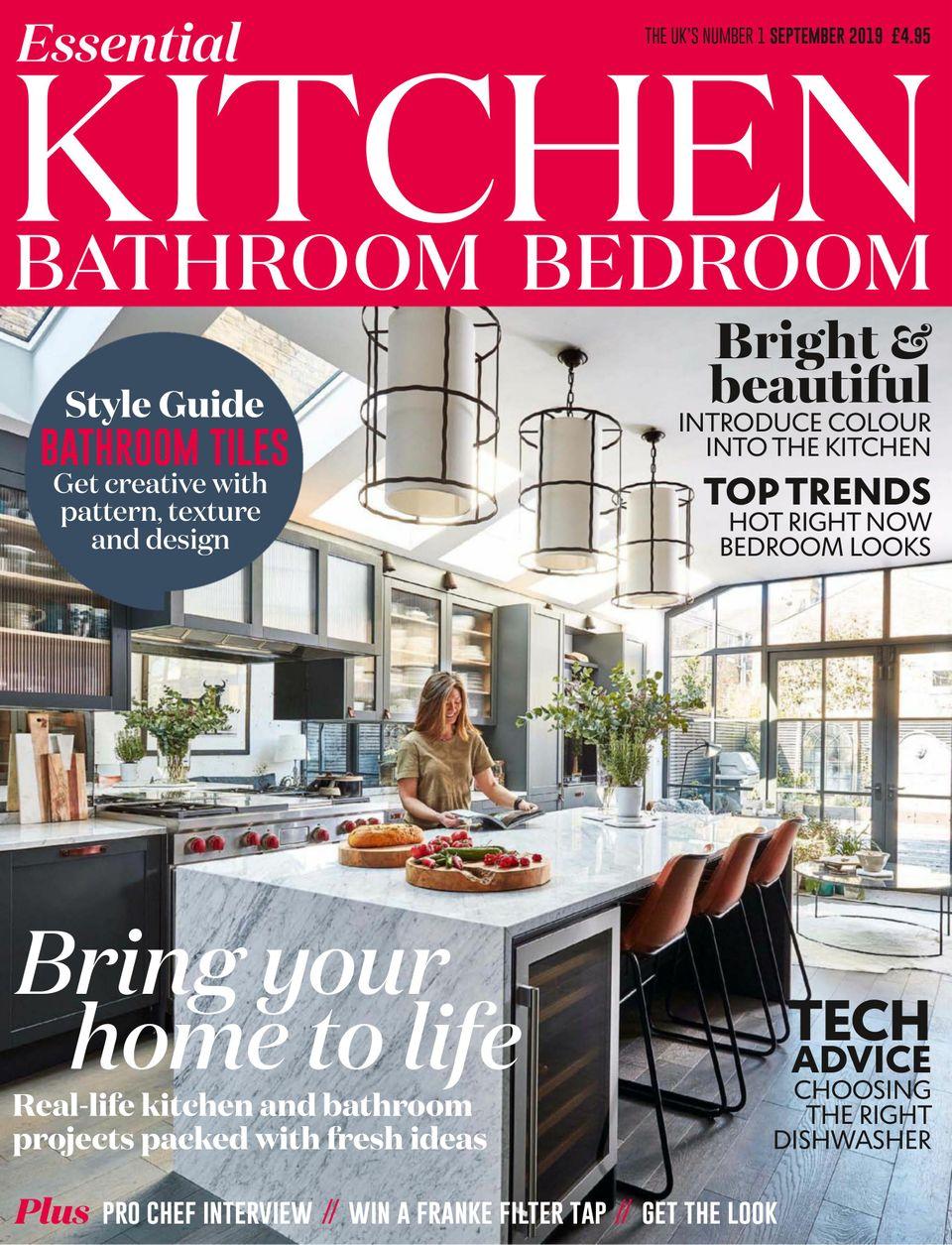 Get Your Digital Copy Of Essential Kitchen Bathroom Bedroom Magazine September 2019 Issue