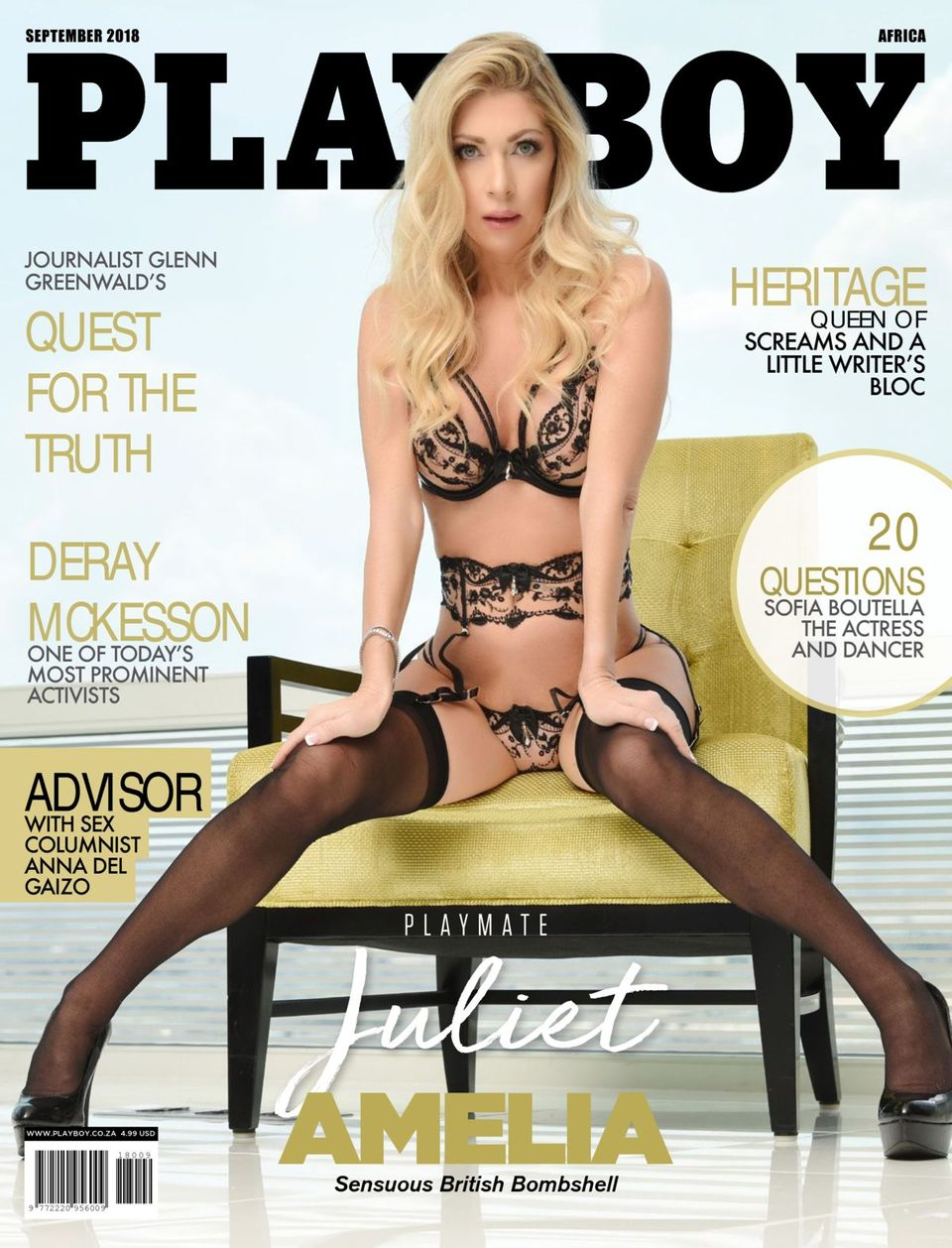Playboy Africa-September 2018 Magazine - Get your Digital