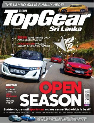 BBC TopGear Sri Lanka Magazine March 2018 issue – Get your