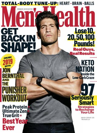 Mens Health Magazine January February 2019 Issue Get Your