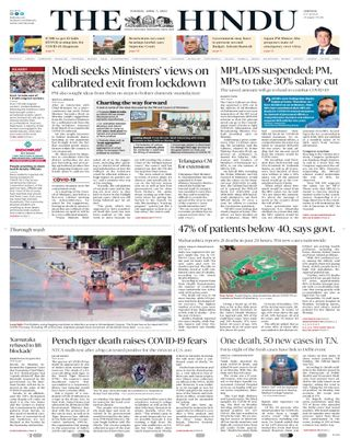 Get your digital copy of The Hindu-April 07, 2020 issue