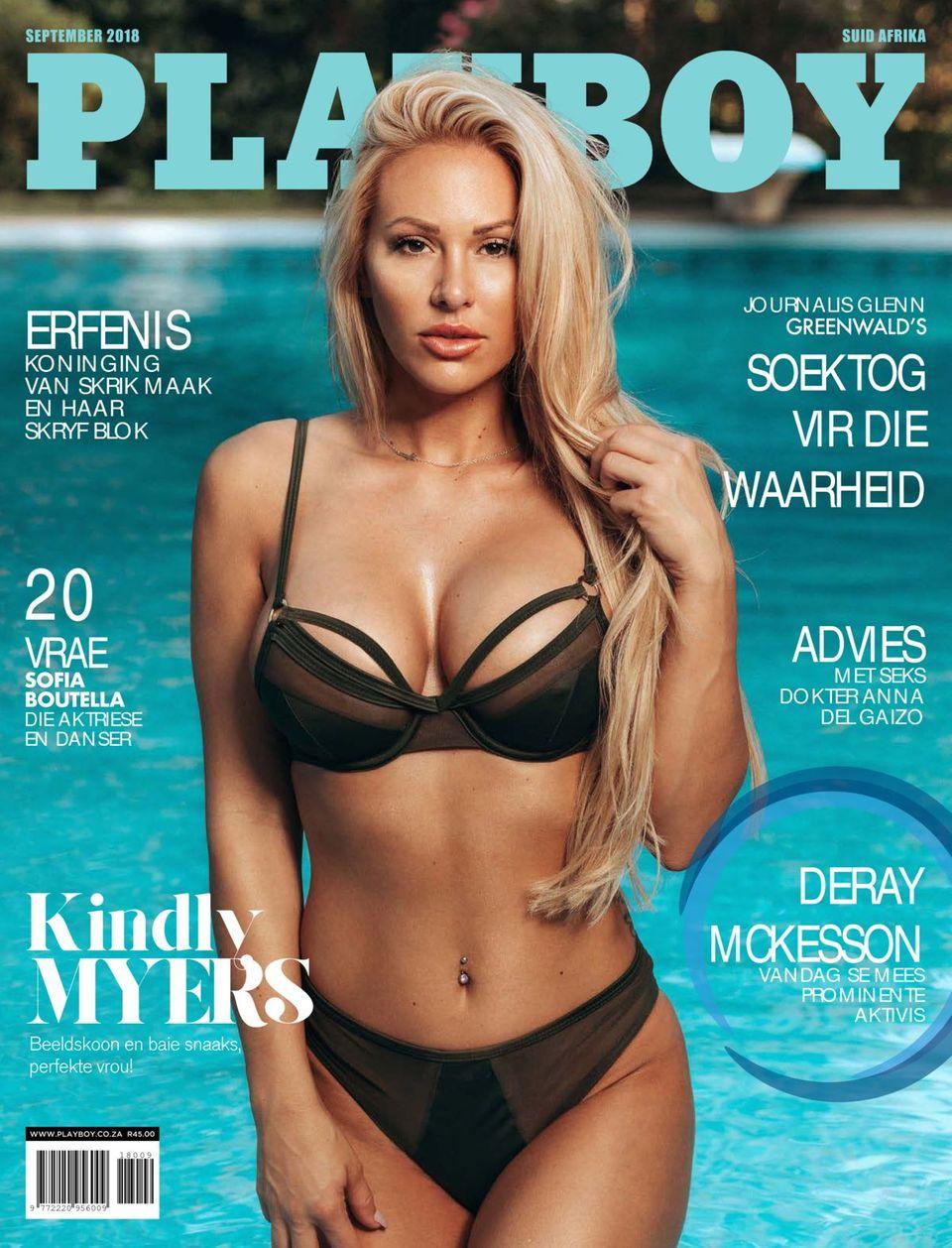 Playboy Suid Afrika-September 2018 Magazine - Get your