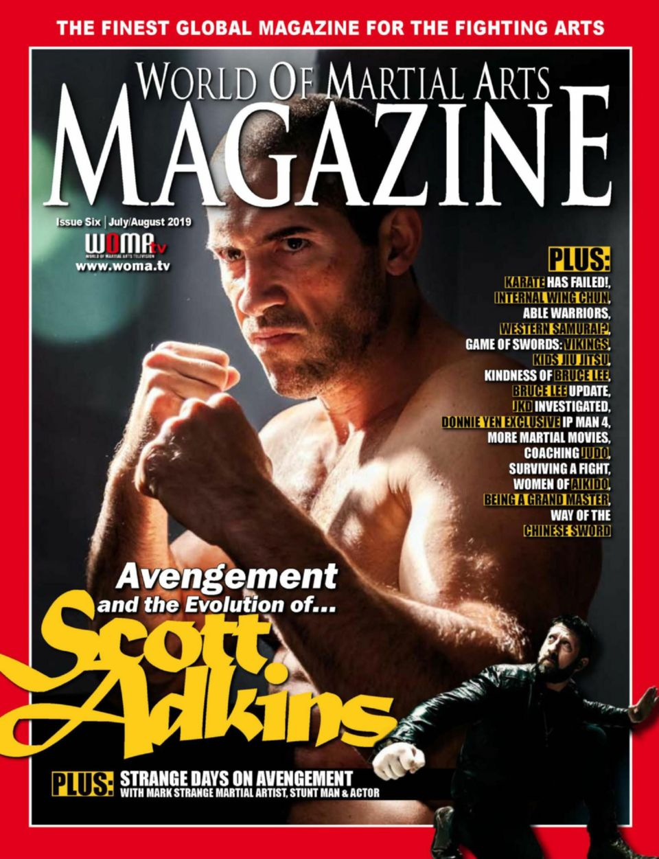 Get Your Digital Copy Of World Of Martial Arts Magazine July August 2019 Issue